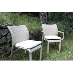 Подушка на кресло и стул Орхидея